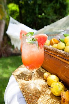 destination wedding cocktails A Tropical Wedding Inspiration Shoot in the Virgin Islands #caribbeanparty #partyideas
