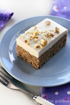 QUINOA CARROT CAKE BARS * #glutenfree