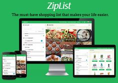 ZipList: Free App to Help You Master Your Shopping List and Find Grocery Deals