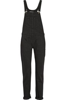 Rag & bone Stretch-denim overalls | NET-A-PORTER