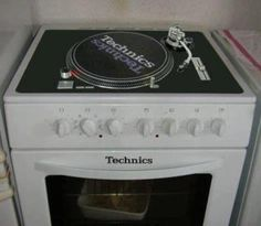 Turntable kitchen for Dj's