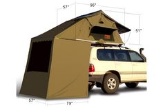 Roof Top Tent addition