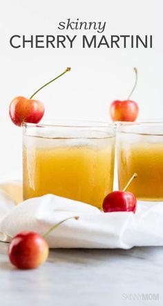 The perfect skinny cherry martini!