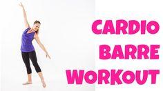 Cardio Barre - 13 Minute Intermediate Total Body Ballet Workout
