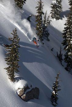 Powder day - Squaw Valley- follow us www.helmetbandits.com like it, love it, pin it, share it!