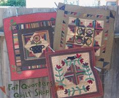 Fat Quarters Quilt Shop For all our quilting & fabric needs : Cheri Payne Primitive Quilt Pattern, Camp Quilts