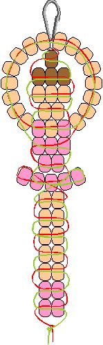 pony bead patterns | Ballerina Pony Bead Pattern