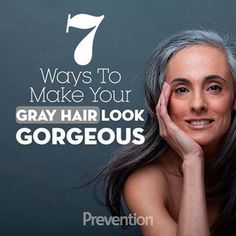 Gray hair strategies pictures