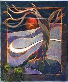 Moonrise Denim Quilt Pattern by Hollis Chatelain