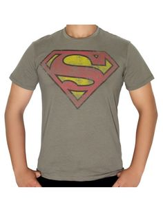 Dc comics mens t shirts on pinterest man of steel for Superhero t shirts india