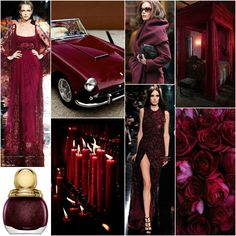 """Next to black and white, red is is my favorite colour to wear... /// Polish blogger Maria analyses shades of red right for each season type: BURGUNDY (NB: In Polish burgundy would usually be used to describe a slightly purplier color than in English) """"For Soft Summer, Soft Autumn, True Autumn, Deep Winter. Perhaps for True Summer."""