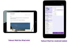 New Yahoo! Mail for iPad and Android tablets--and Yahoo! Weather App for iPhone, iPod and iPod Touch launches.
