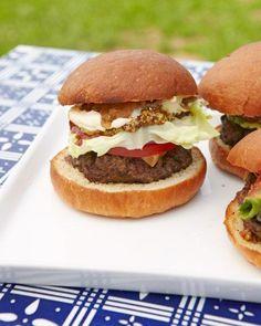 Build-Your-Own Burger Bar