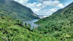 Represa de Hidrosogamoso Vía Bucaramanga - Barrancabermeja. Colombia.