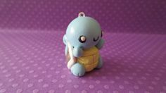 Kawaii Handmade Squirtle Charm! Chibi Pokemon Inspired Polymer Clay Charm , Perfect as Keychain, Cell Phones Charm, or Necklace! on Etsy, $6.81