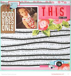 This Girl by natalieelph at @studio_calico - 12x12 layout