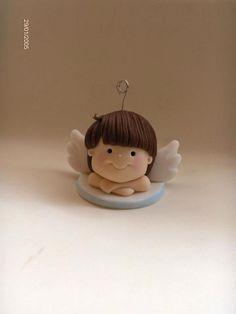 angel, souvenir adriana, pasta francesa, polym clay, de souvenir, polymer clay