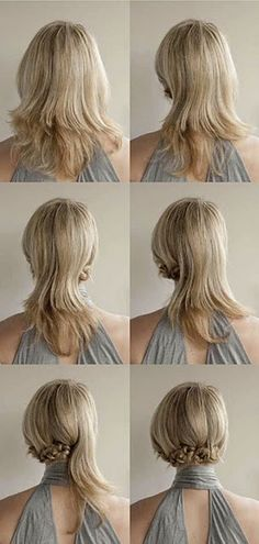 A great up-do to try. Looks easy enough, right?