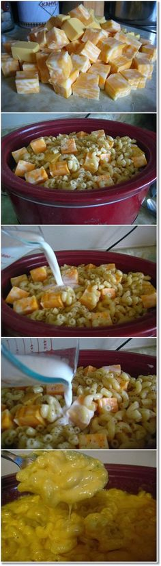 Crock Pot Mac and Cheese looks good for potluck