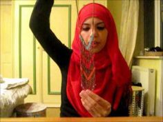 Moroccan Inspired Princess Hijab Style Using a Necklace