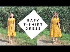 DIY Dress Tutorial // Sew a Dress without a Pattern - YouTube