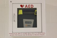 Thanks to Box Tops, Heards Ferry Elementary, Sandy Springs, GA now has a  Defibrillator! A great way to show what BOX TOPS FOR EDUCATION can do!