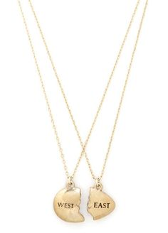The Great Gatsby West Egg vs. East Egg Necklaces | 17 Book-Inspired Accessories You'll Want Immediately
