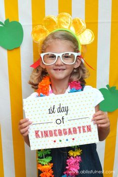 9 First Day of School Free Sign Printables!