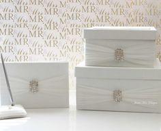 Wedding Card Box Money Box Wedding Gift Card by jamiekimdesigns, $105.00
