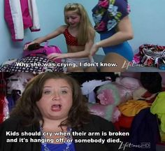 Words of wisdom from Abby Lee Miller.