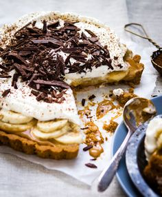 Salty Banoffee Pie