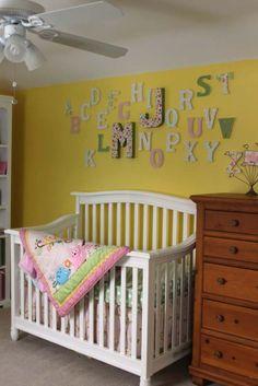 Project Nursery - Letter_wall_baby_initials_nursery