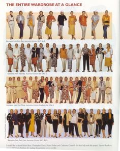 Sewing with a plan Make 11 garments = 48 outfits!