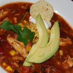 Slow Cooker Chicken Taco Soup Allrecipes.com