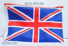 union jack pouch
