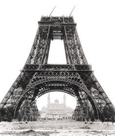 Unfinished Eiffel Tower eiffel tower, paris history, towers, gustav eiffel, tour de france paris, unfinish eiffel, travel, place, thing