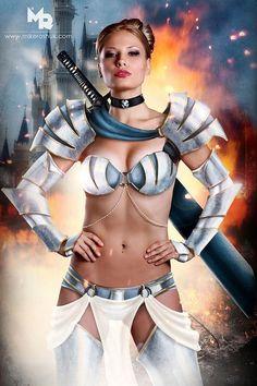 Cinderella, Cinderella - Disney Princesses Get A Fierce Warrior Makeover