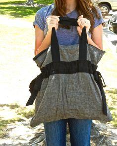 DIY: cinch bag