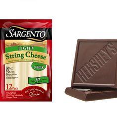 Dark Chocolate and Light Cheese