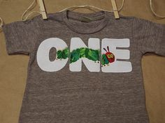 Very Hungry Caterpillar Birthday Shirt for by lilthreadzclothing