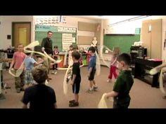 Kinder High/Low Scarf Movement - Hedwig's Theme scarv idea, aquarium, highlow