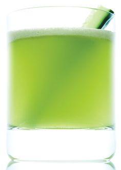 Granny Smiths, cucumber, spinach, mint, green tea, honey, lemon