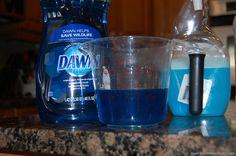 Vinegar and Dawn tub/shower cleaner