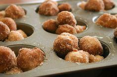 YUM. Banana Monkey Bread Muffins!