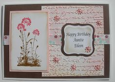 Cards by Aardvark: Flower Power- Serene Silhouettes Stampin Up