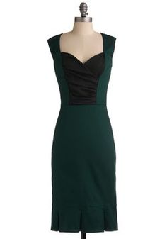 Toastess with the Mostess Dress in Olive, #ModCloth: for upcoming weddings?