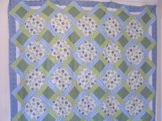 Peace Garden quilt pattern and tutorial from Ludlow Quilt and Sew