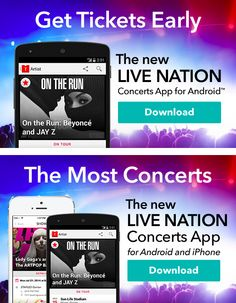 Live Nation targeted this email to Android users to encourage mobile app downloads from directly within the email. If a user's mobile OS couldn't be determined, the email displayed more generic messaging. #emailmarketing #geotargeting #mobile #concerts