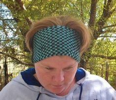 Easy Knit 2 Color Ear Warmers Pattern - via @Craftsy