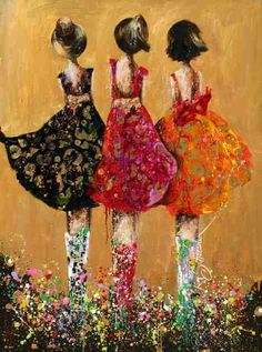 Kim Schuessler - friends in colour